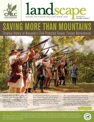 2011 Winter Newsletter - Carolina Mountain Land Conservancy