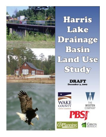 Harris Lake Drainage Basin Land Use Study - Wake County ...