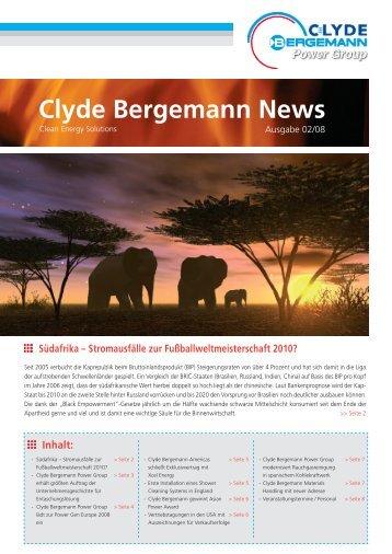 Clyde Bergemann News - Clyde Bergemann Gmbh