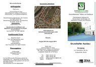 Infoblatt Burgweg (PDF, 1.2 MB) - Jena