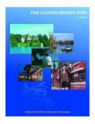 Film Location Resource Guide - Richmond Hill | Office of Economic ...