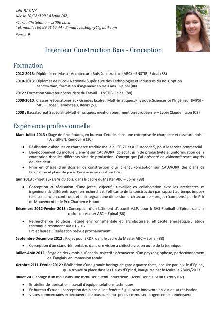 Ingénieur Construction Bois Conception Formation Fibois Alsace