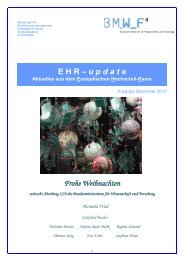 EHR Update 11 Dezember - Erasmus+ Journal
