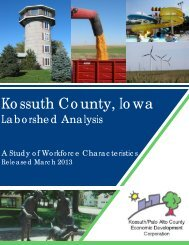 Executive Summary - Kossuth County Economic Development