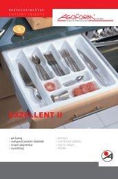 EXZELLENT II Besteckeinsätze - agoform
