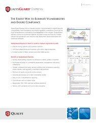 QualysGuard Express - Security Assessment