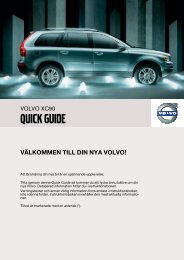 XC90 Quick Guide w620 version B Sv.fm - ESD - Volvo