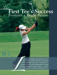 First Tee's Success - Forbes Special Sections