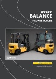BALANCE FRONTSTAPLER - BUW STAPLER-SERVICE GMBH