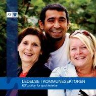 LEDELSE I KOMMUNESEKTOREN - KS
