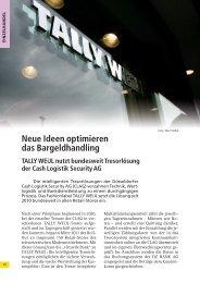 Neue Ideen optimieren das Bargeldhandling TALLY Weijl nutzt ...