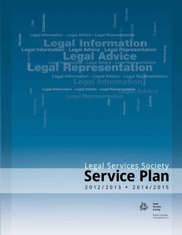 Legal Services Society - Budget