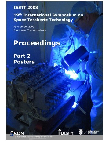 Proceedings_posters ISSTT2008.pdf - SRON