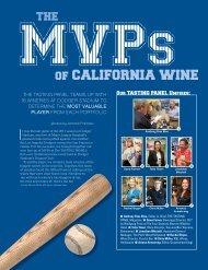of CALIFORNIA WINE - The Tasting Panel Magazine