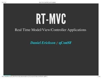 Download slides - QCon