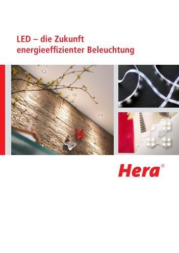 LED - Die Zukunft energieeffizienter Beleuchtung (3 MB) - Hera