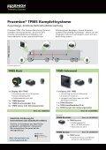 Proemion TPMS, Flexible Reifendruckkontrollsysteme - Page 2