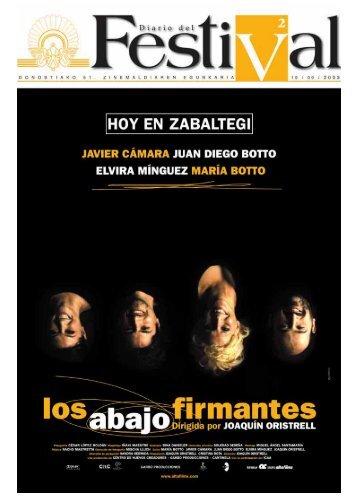 Descargar el diario en pdf - Festival Internacional de cine de San ...