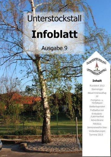 Vorwort zum Erscheinen der Dorfzeitung - Dorferneuerungsverein ...