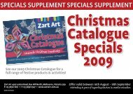 SPECIALS SUPPLEMENT SPECIALS SUPPLEMENT - Zart Art
