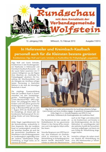 KW 07 - Verbandsgemeinde Wolfstein