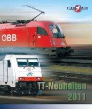TT-Neuheitenprospekt 2011 - Tillig