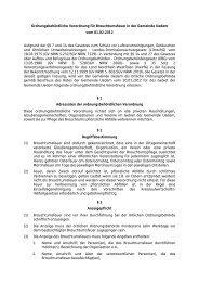 Ordnungsbehördliche Verordnung für Brauchtumsfeuer - Gemeinde ...