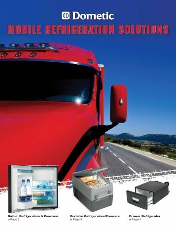 Built-in Refrigerators & Freezers Portable Refrigerators/Freezers ...