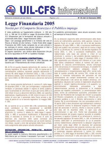 uilinfo01-2005 - Uil Cfs