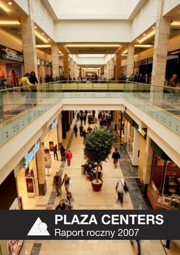 noty objaÅ›niajÄ…ce do skonsolidowanego ... - Plaza Centers NV