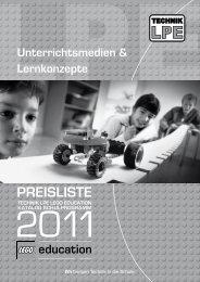 LEGO Education Preisliste 2011