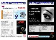 Flyer & Programm - ZOFA