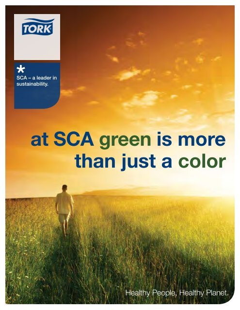 to view this brochure from SCA Tissue North America LLC - NFMT