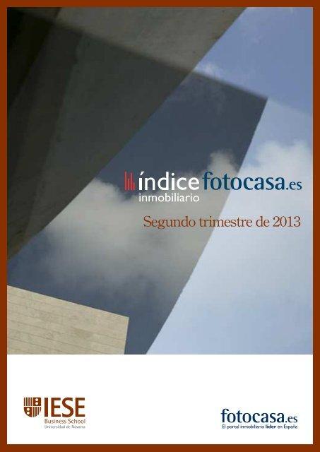 La vivienda en el segundo trimestre de 2013 - Fotocasa