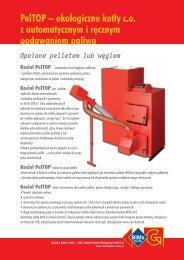 PelTOP – ekologiczne kot∏y co z automatycznym i r ... - BIMs PLUS