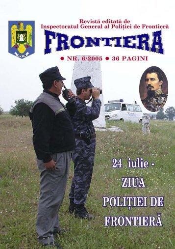 Nr. 6/2005 - Politia de Frontiera