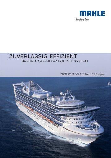 ZUVERLÄSSIG EFFIZIENT - MAHLE Industry - Filtration