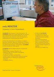 ewb.MONITOR (PDF) - Energie Wasser Bern