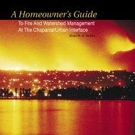 A Homeowner's Guide to Fire and Watershed ... - Bewaterwise.com