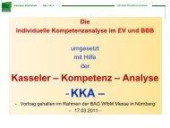 Kasseler Kompetenzanalyse - Klammer Schilp Partner