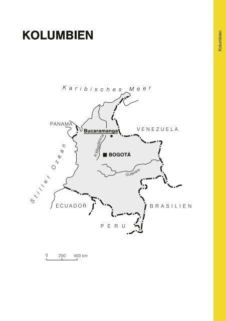 Kolumbien - Gustav-Adolf-Werk