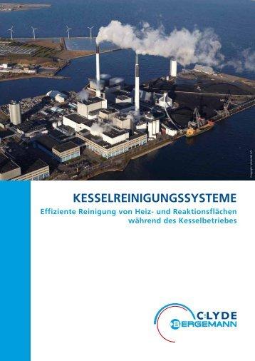 Kesselreinigungssysteme - Broschüre - Clyde Bergemann Gmbh