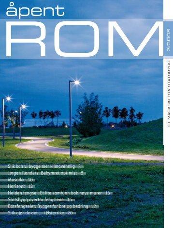 Les hele Åpent rom nr 3, 2008 - Statsbygg