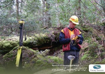 annual report 2012 - Forestry Tasmania