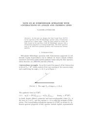 Note on 2D Schrödinger operators with δ-interactions on angles and ...
