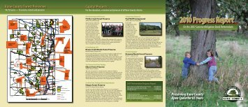 2010 Progress Report - Forest Preserve District of Kane County