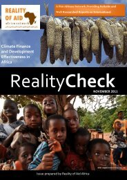 Climate Finance and Development Effectiveness in ... - Reality of Aid