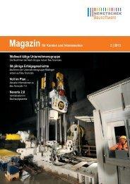 Magazin 2/2013 - Nemetschek Bausoftware GmbH