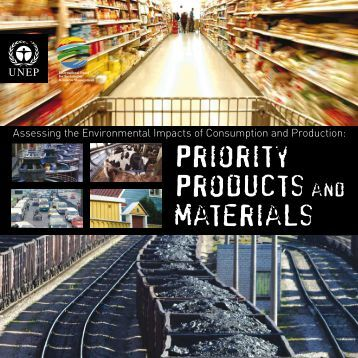 Priority Products and materials - Regional Office of North America ...