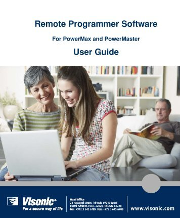 Remote Programmer Software - Visonic